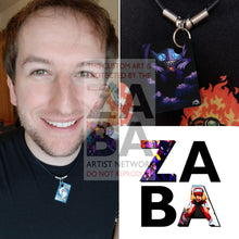 Sableye 23/107 Ex Deoxys Extended Art Custom Pokemon Card 18 Necklace (Pic For Reference)