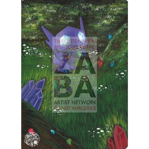 Sableye 61/113 Legendary Treasures Extended Art Custom Pokemon Card Silver Holo
