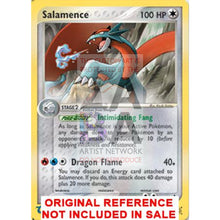Salamence 19/97 Ex Dragon Extended Art Custom Pokemon Card