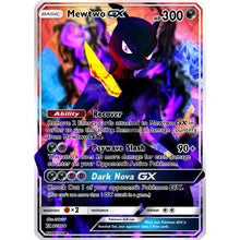Shadow Mewtwo Gx Full Art Custom Pokemon Card