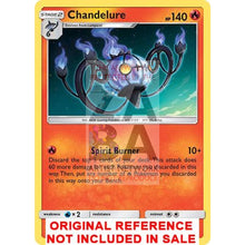 Shining Chandelure 30/236 Unified Minds Extended Art Custom Pokemon Card
