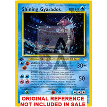 Shining Gyarados 65/64 Neo Revelation Extended Art Custom Pokemon Card