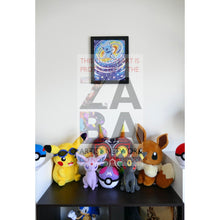 Shining Mew (40/72 Legends) 8.5 X 11 Poster Print By Edwin-San
