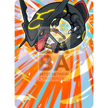 Shining Rayquaza (56/72 Legends) 8.5 X 11 Poster Print By Edwin-San