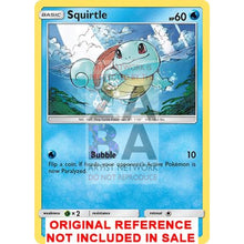 Shining Squirtle 33/214 Unbroken Bonds Extended Art Custom Pokemon Card