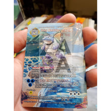Shiny Blastoise Lenticular - Custom Pokemon Card