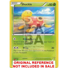 Shuckle 1/124 Xy Fates Collide Extended Art Custom Pokemon Card