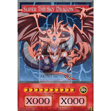 Slifer The Sky Dragon Full Art Orica - Custom Yu-Gi-Oh! Card
