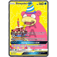 Slowpoke Gx Custom Pokemon Card Birthday