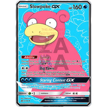 Slowpoke Gx Custom Pokemon Card (No Holiday)