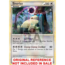 Snorlax 33/95 Call Of Legends Extended Art Custom Pokemon Card