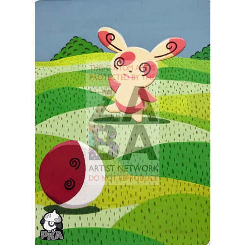 Spinda 46/147 Supreme Victors Extended Art Custom Pokemon Card Silver Holographic