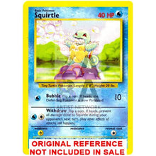 Squirtle Base Set 63/102 Extended Art Custom Pokemon Card