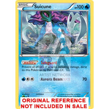 Suicune 20/101 Black & White Plasma Blast Extended Art Custom Pokemon Card
