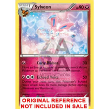 Sylveon 72/111 Xy Furious Fists Extended Art Custom Pokemon Card