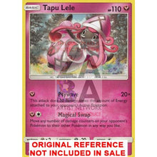 Tapu Lele 94/138 Ultra Prism Extended Art Custom Pokemon Card