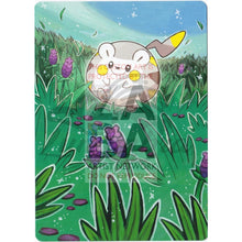 Togedemaru 53/149 Sun & Moon Extended Art Custom Pokemon Card Textless Silver Holographic