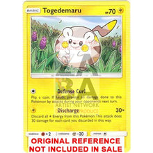 Togedemaru 53/149 Sun & Moon Extended Art Custom Pokemon Card