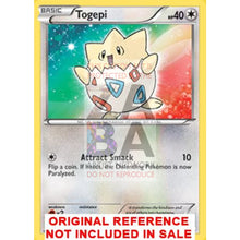 Togepi 110/149 Black & White Boundaries Crossed Extended Art Custom Pokemon Card