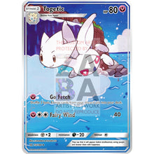 Togetic 44/108 Xy Roaring Skies Extended Art Custom Pokemon Card Silver Holographic