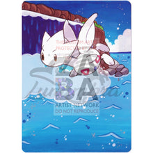 Togetic 44/108 Xy Roaring Skies Extended Art Custom Pokemon Card Textless Silver Holographic