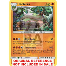 Torterra 58/131 Sun & Moon Forbidden Light Extended Art Custom Pokemon Card