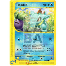 Totodile 134/165 Expedition Extended Art Custom Pokemon Card