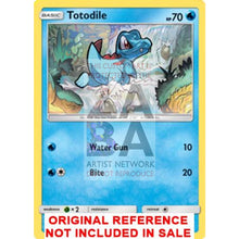 Totodile 18/73 Shining Legends Extended Art Custom Pokemon Card