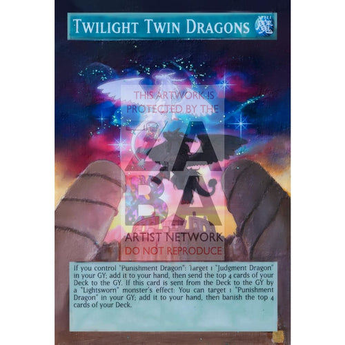 Twilight Twin Dragons Full Art Orica - Custom Yu-Gi-Oh! Card