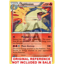 Typhlosion 20/162 Xy Breakthrough Extended Art Custom Pokemon Card