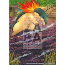 Typhlosion 35/95 Call Of Legends Extended Art Custom Pokemon Card Silver Holo