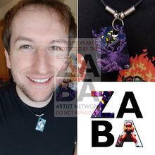 Umbreon 61/108 Black & White Dark Explorers Extended Art Custom Pokemon Card 18 Necklace (Pic For