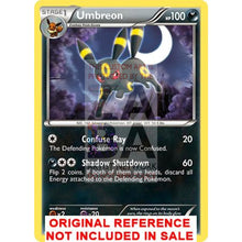 Umbreon 61/108 Black & White Dark Explorers Extended Art Custom Pokemon Card
