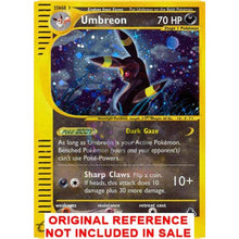 Umbreon H30/h32 Skyridge Extended Art Custom Pokemon Card