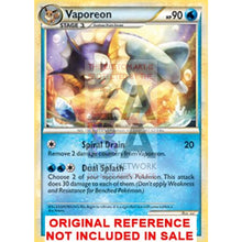 Vaporeon 52/95 Call Of Legends Extended Art Custom Pokemon Card