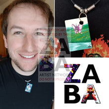 Venomoth 29/64 Jungle Set Extended Art Custom Pokemon Card 18 Necklace (Pic For Reference)