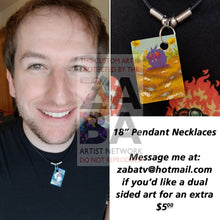 Venonat 63/64 Jungle Extended Art Custom Pokemon Card 18 Necklace (Pic For Reference)