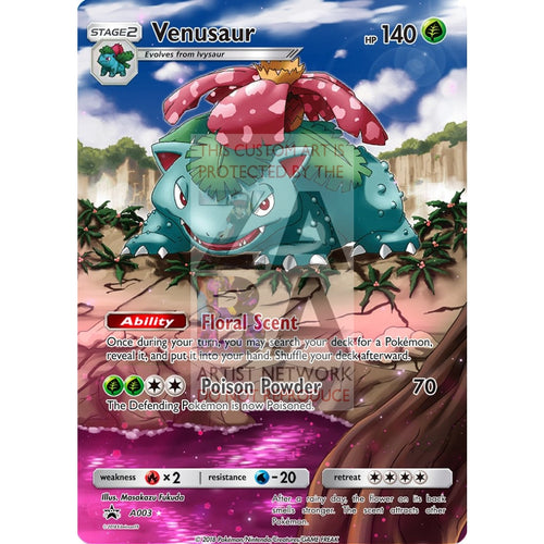 Venusaur 3/108 Bw Dark Explorers Extended Art Custom Pokemon Card Silver Holographic