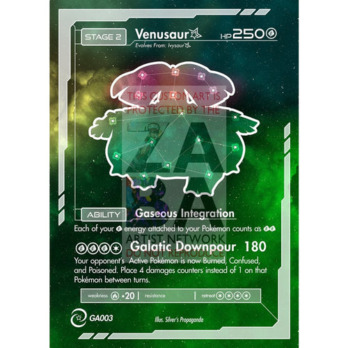 Venusaur Constellation Card - Custom Pokemon