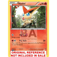 Victini 13/108 Roaring Skies Extended Art Custom Pokemon Card