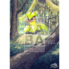 Victreebel 14/64 Jungle Set Extended Art Custom Pokemon Card Textless Silver Holographic
