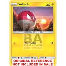 Voltorb 30/72 Shining Legends Extended Art Custom Pokemon Card