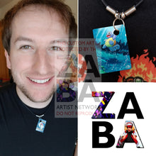 Wartortle 24/100 Ex Crystal Guardians Extended Art Custom Pokemon Card 18 Necklace (Pic For