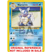 Wartortle 42/102 Base Set Extended Art - Custom Pokemon Card