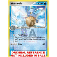 Wartortle 43/100 Ex Crystal Guardians Extended Art Custom Pokemon Card