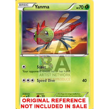 Yanma 6/114 Xy Steam Siege Extended Art Custom Pokemon Card