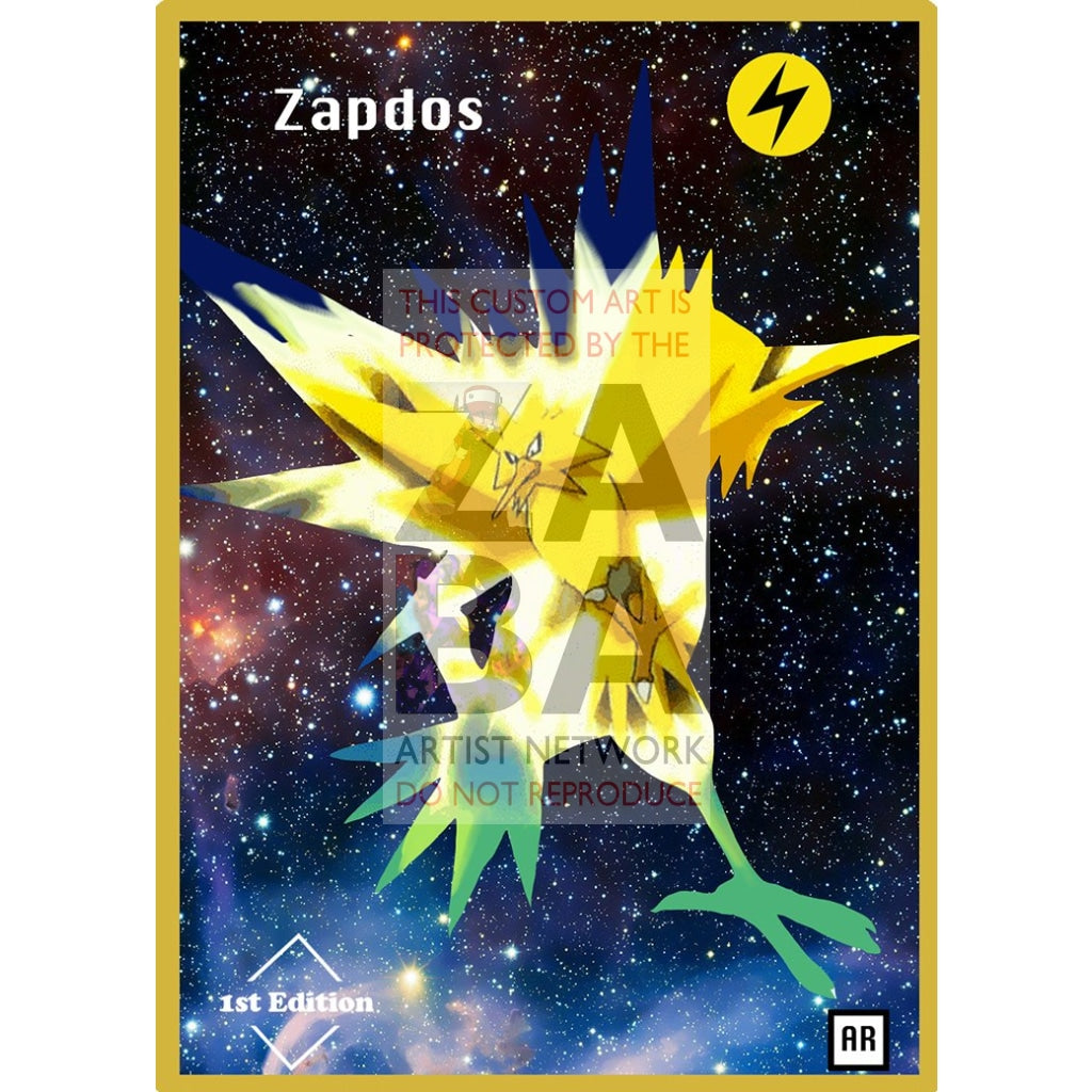 Zapdos Anime Silhouette (Drewzcustomcards) - Custom Pokemon Card