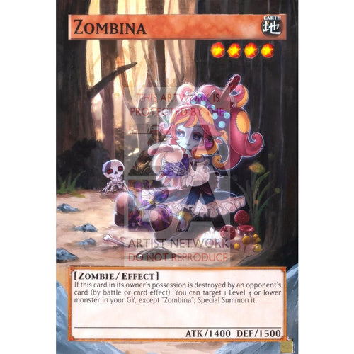 Zombina Full Art Orica - Custom Yu-Gi-Oh! Card