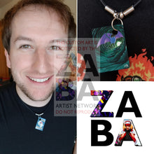 Zubat 133/147 Platinum Supreme Victors Extended Art Custom Pokemon Card 18 Necklace (Pic For