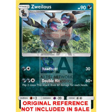 Zweilous 61/111 Crimson Invasion Extended Art Custom Pokemon Card